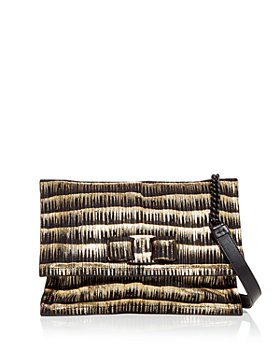 Salvatore Ferragamo - Viva Textured Leather Shoulder Bag