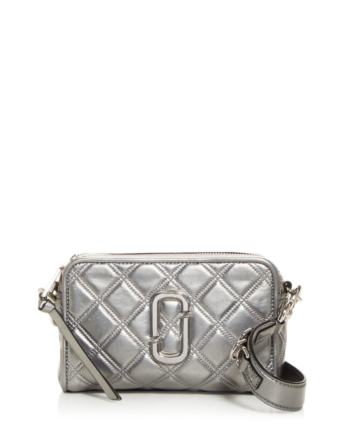 MARC JACOBS MARC JACOBS The Softshot Quilted Leather Crossbody    Bloomingdale's