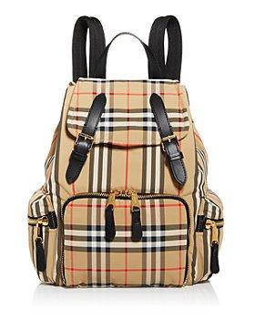 Burberry - Medium Vintage Check Backpack