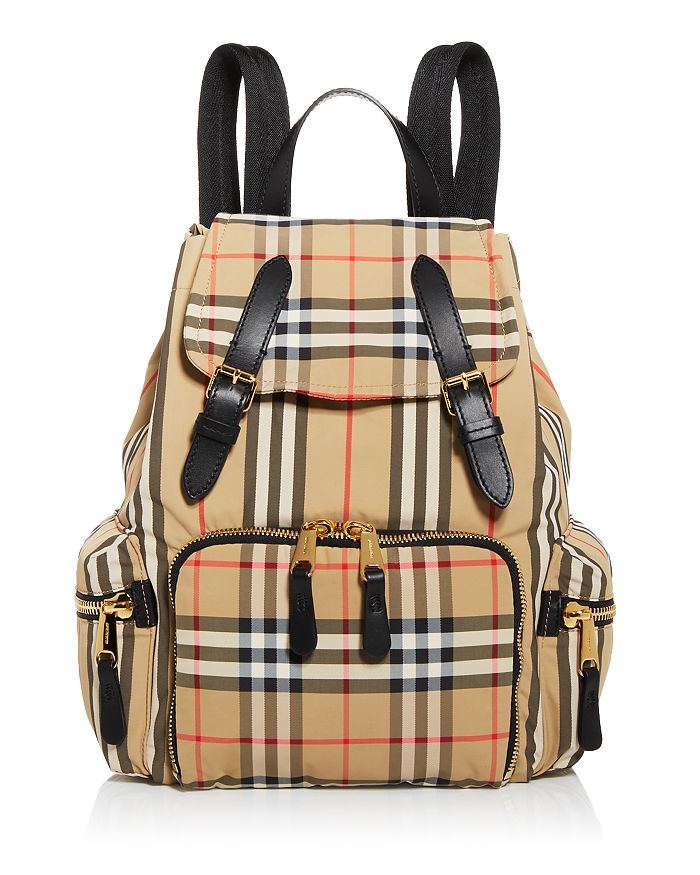 Burberry MEDIUM VINTAGE CHECK BACKPACK