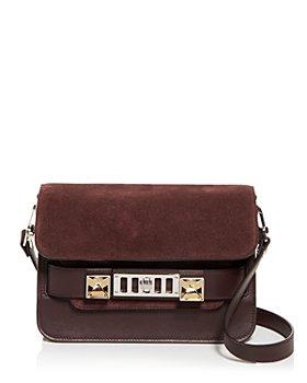 Proenza Schouler - PS11 Mini Classic Leather & Suede Shoulder Bag