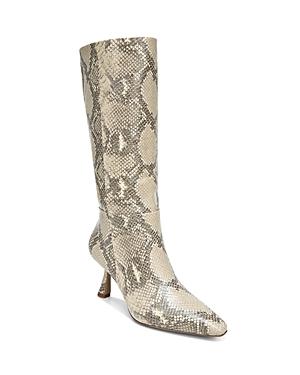 Sam Edelman Women\\\'s Samira Snake Embossed Leather Tall Boots