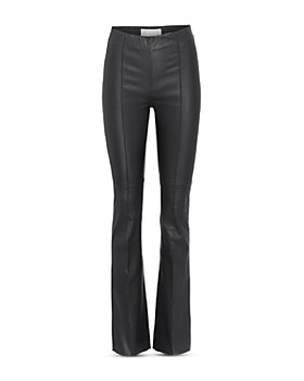 REMAIN - Stretch Leather Bootcut Pants