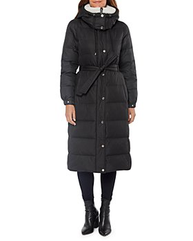 kate spade new york - Hooded Belted Puffer Coat