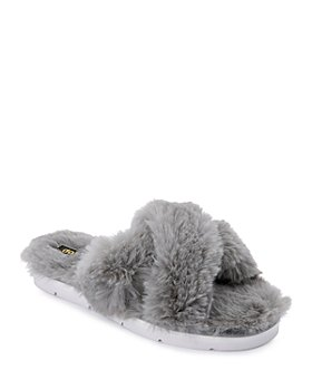 Dolce Vita - Women's Pillar Faux Fur Slippers