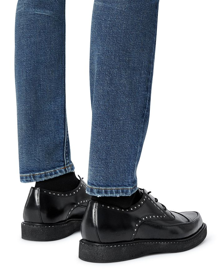 THE KOOPLES Leathers MEN'S STUDDED LEATHER LOAFERS