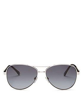 Burberry - Men's Brow Bar Aviator Sunglasses, 59mm