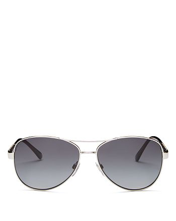Burberry - Men's Brow Bar Aviator Sunglasses, 59mm