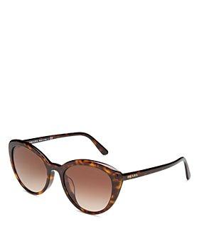 Prada - Women's Cat Eye Sunglasses, 54mm