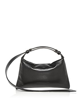 SIMON MILLER - Mini Puffin Leather Shoulder Bag
