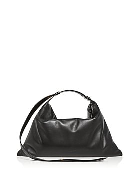 SIMON MILLER - Large Puffin Leather Shoulder Bag