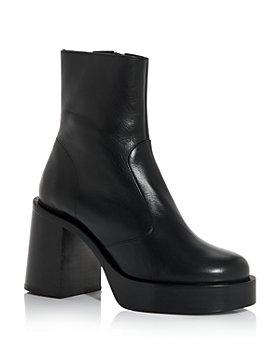 SIMON MILLER - Women's Low Raid Block Heel Platform Booties