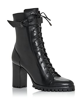 Alexandre Birman - Women's Evelyn High Block Heel Booties