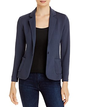 Majestic Filatures - French Terry One Button Blazer