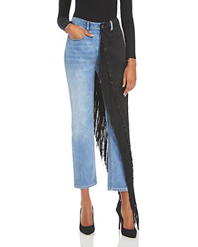 Hellessy - Cy Fringe Skirt Jeans