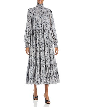 Cinq à Sept - Rika Printed Midi Dress