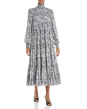 Cinq a Sept Rika Printed Midi Dress-Women