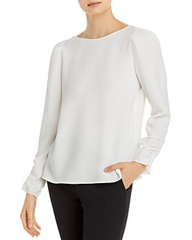 Lafayette 148 New York - Romilly Ruched Blouse