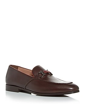 Salvatore Ferragamo - Men's Gancini Horsebit Loafers