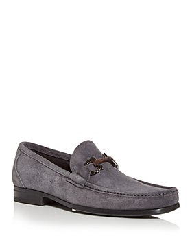 Salvatore Ferragamo - Men's Gancini Horesbit Moc Toe Loafers