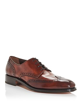 Salvatore Ferragamo - Men's Bryant Brogue Wingtip Oxfords - Narrow