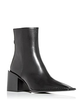 Alexander Wang - Women's Parker Square Toe High Block Heel Booties