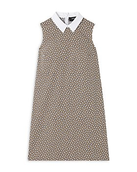 PAULE KA - Domino Print Collared Dress