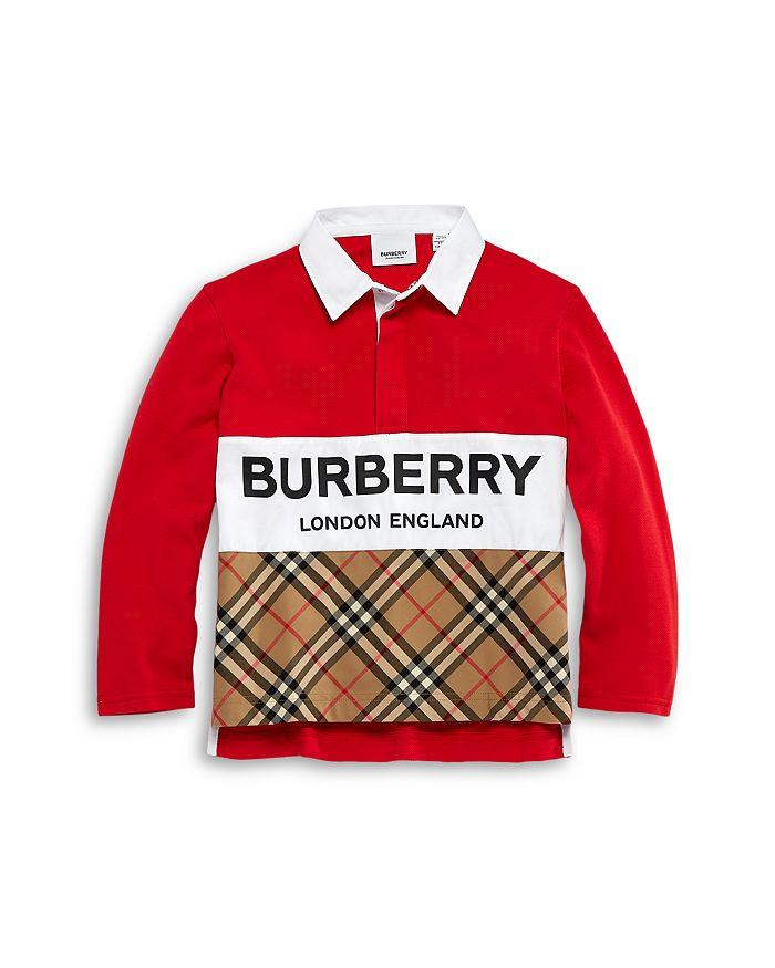 Burberry - Boys' Quentin Rugby Shirt - Little Kid, Big Kid