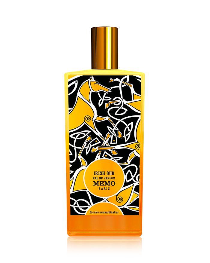 Memo Paris Irish Oud Eau De Parfum 2.5 Oz.