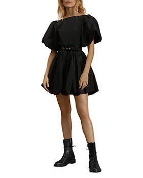 Nicholas - Aleksey Mini Bubble Hem Dress