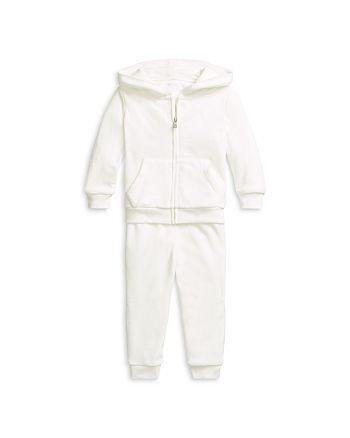 Ralph Lauren - Girls' Velour Hoodie & Jogger Pants Set - Baby