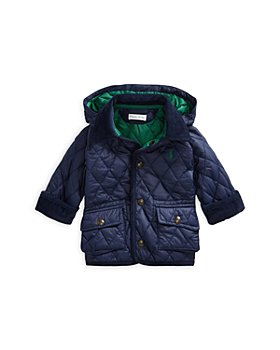 Ralph Lauren - Boys' Quilted Zip Hood Car Coat - Baby