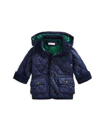 Ralph Lauren - Boys' Quilted Zip Hood Car Coat - Baby