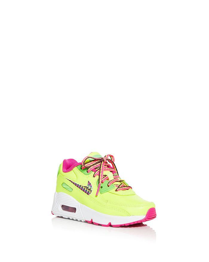 Nike - Girls' Air Max 90 Low Top Sneakers - Toddler, Little Kid