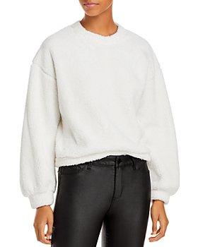 AQUA - Sherpa Blouson Sweatshirt - 100% Exclusive