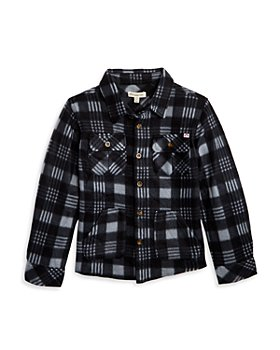 Appaman - Boys' Plaid Snow Fleece Shirt - Big Kid