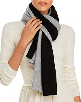 C by Bloomingdale's - Angelina Bicolor Cashmere Scarf - 100% Exclusive
