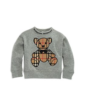 Burberry - Unisex Danny Check Bear Sweatshirt - Baby