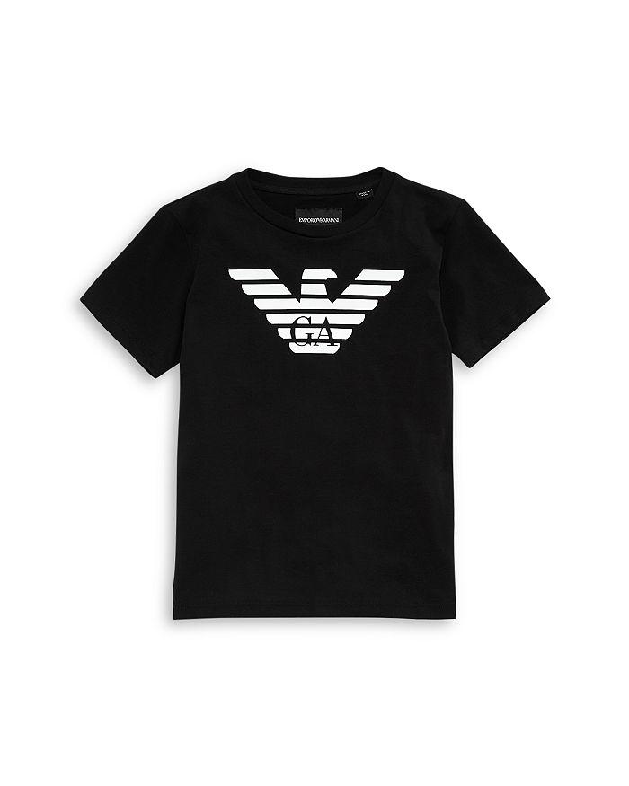 Armani - Boys' Crewneck Logo Tee - Little Kid, Big Kid