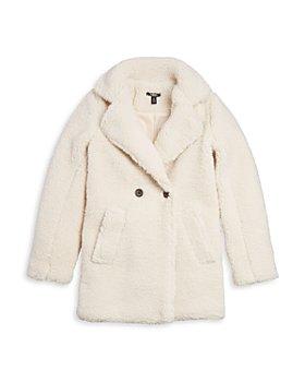 AQUA - Girls' Faux Shearling Coat, Big Kid - 100% Exclusive