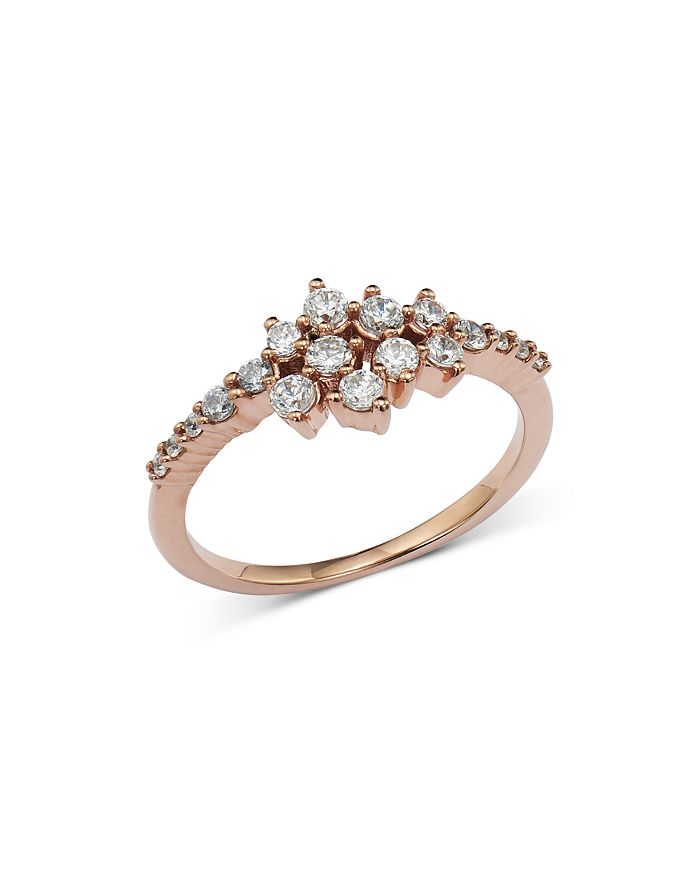 Bloomingdale's - Diamond Cluster Ring in 14K Rose Gold - 100% Exclusive