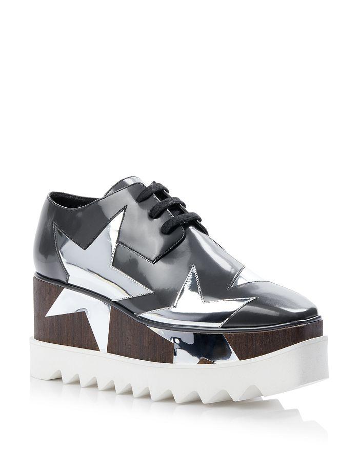 Stella McCartney - Women's Elyse Brushoff Platform Sneakers