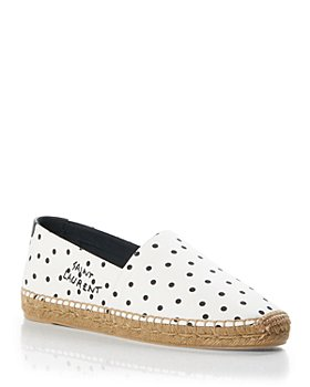 Saint Laurent - Women's Signature Slip On Espadrille Flats