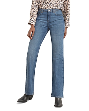 Laura Flare Cut Jeans in Blue