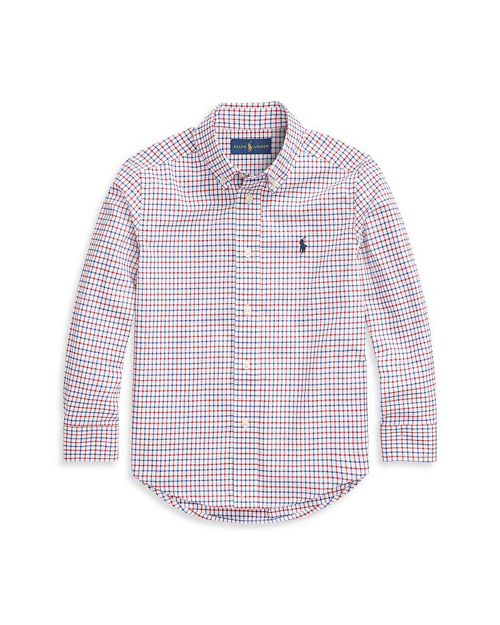 Ralph Lauren - Boys' Plaid Shirt - Little Kid, Big Kid