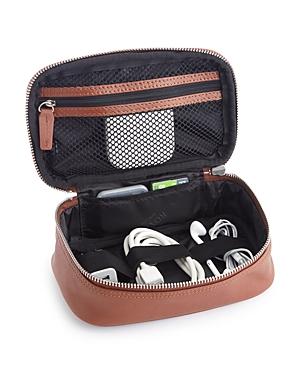 Royce New York Leather Tech Accessory Travel Storage Case
