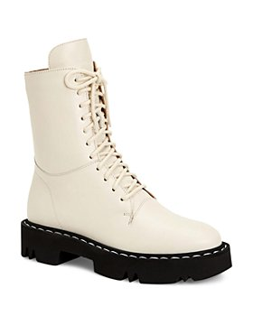Aquatalia - Women's Hana Weatherproof Calf Leather Platform Boots
