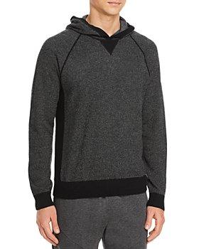 Vince - Birdseye Sweater Knit Hoodie