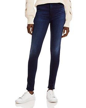 rag & bone - Nina High Rise Skinny Jeans in New Gate
