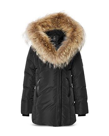 Mackage - Girls' Fur Trim Down Coat - Little Kid, Big Kid